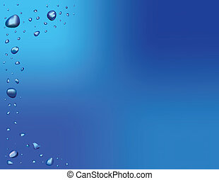 Water Drops - Water Drop Background Illustration