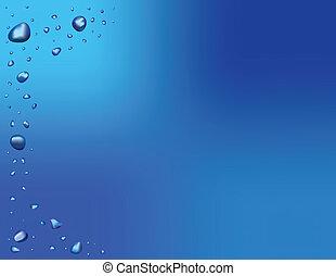 Water Drop Background Illustration