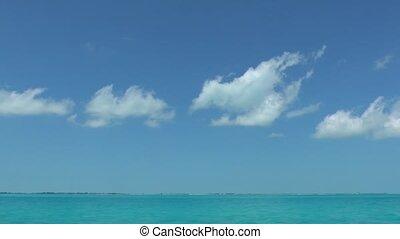 water, duidelijk, caraïbische overzees
