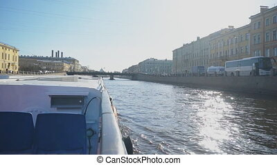 Water excursions along the rivers and canals of St....
