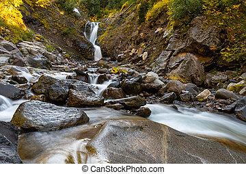 Water Fall and Van Trump Creek