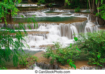 water fall , hua mae kamin