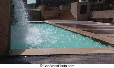 water feature - a clip of water in motion