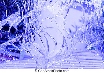 water flow abstract background
