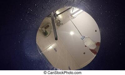 water flow bucket bubble