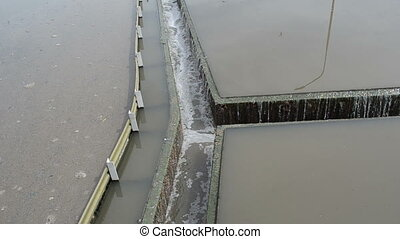 water flow sedimentation