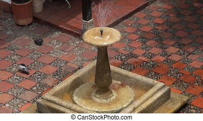 Water Fountain, Spring Water, Sculpture