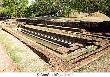 Water Garden at Sigiriya, Sri Lanka