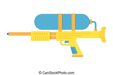 water gun vector illustration icon isolated on white...