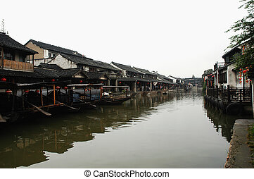 water hamlet landscapes of china