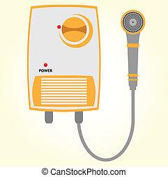 Water heater.