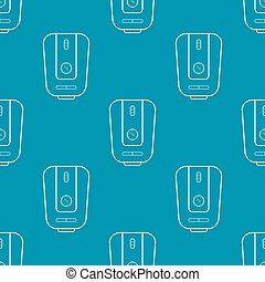 Water heater seamless pattern