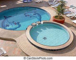 water, hotel zwembad