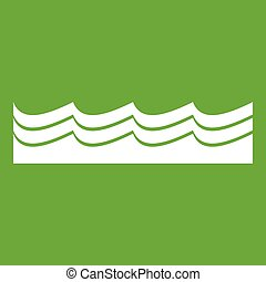 Water icon green