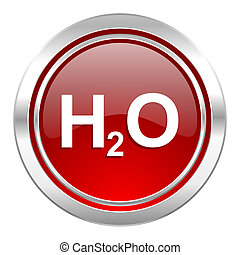 water icon, h2o sign