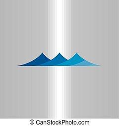 water icon waves vector symbol