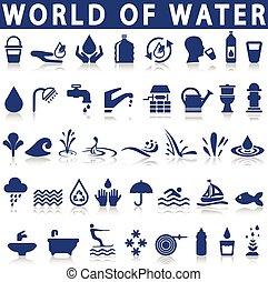 water, iconen