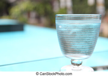 water, in, glas