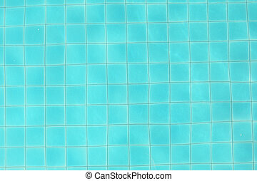 water in pool background