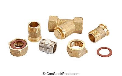 Water inlet pipe valve