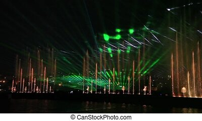 water, light and laser show 5