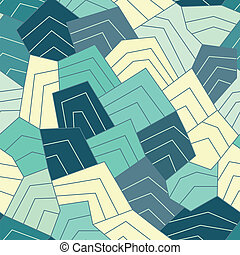 water lines seamless pattern