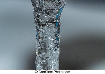water macro photo