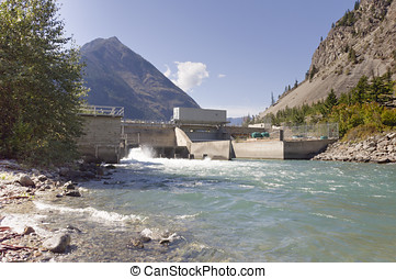Water management control dam - A water management control...