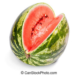 water-melon, rijp