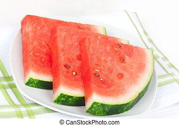 water-melon, snede