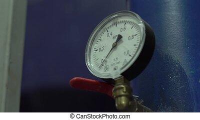 Water Meter Pressure - Water meter pressure equipment at the...