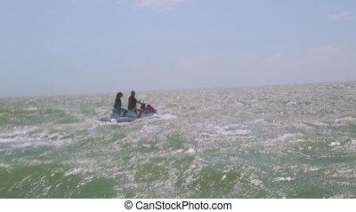Water Motorbike Ridding, Lady Elliot Island