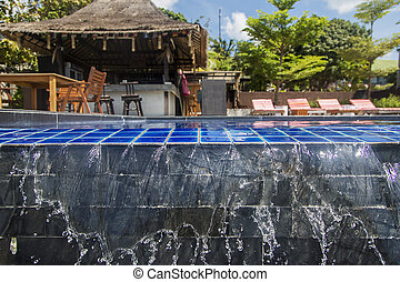 Water of the pool