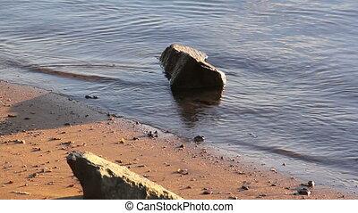 Water On Rocks
