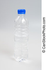 Water or Bottle of Water on a background.