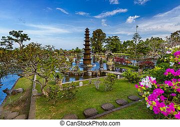 Water Palace Tirta Ganga - Bali Island Indonesia - Water ...