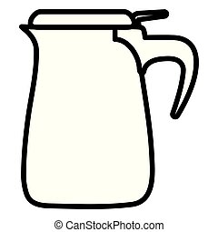 water pitcher icon vector illustration