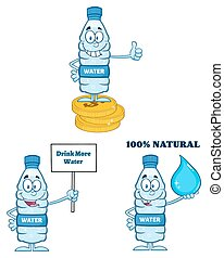 Water Plastic Bottle Collection
