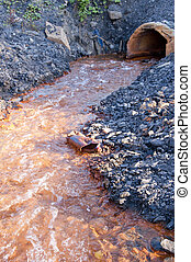 Pipe and water pollution