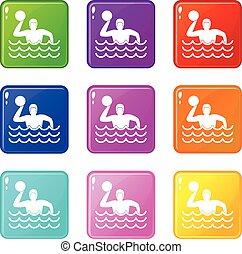 Water polo set 9