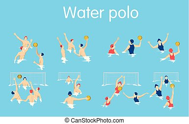 Water polo set.