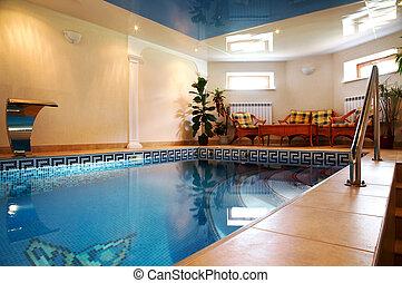 water, pool, puur