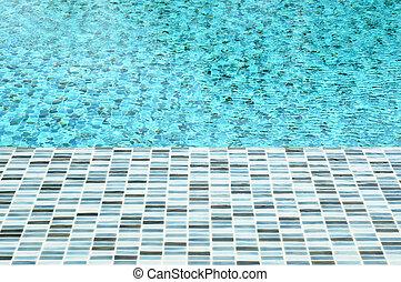 water, pool, zwemmen