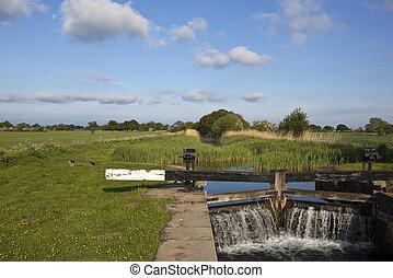 canal lock gates