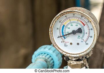 Water pressure gage