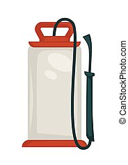 Water pressure washer - Vector illustration of water...