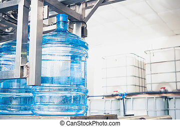 water production line