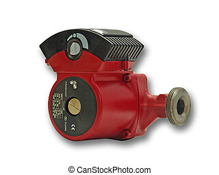 Water pump - Flowing water pump for hot water. Used in...