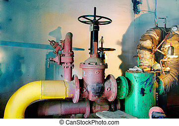 Water pumping station,