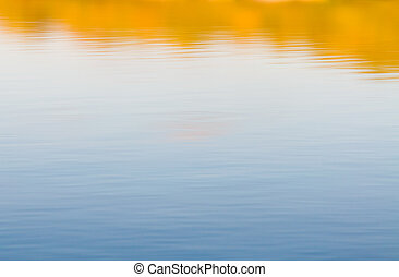 Water Reflection in the Dnieper river